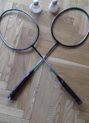 Комплект-ракетки для бадминтона с воланчиками