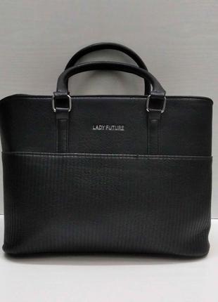 Женская сумка (черная) 21-09-021
