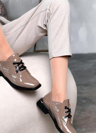 Р. 36-41 кожаные туфли