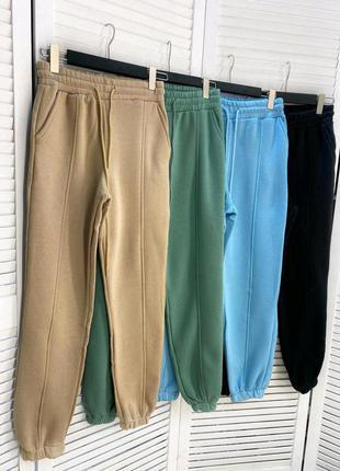 Спортивные штаны,джогеры на флисе