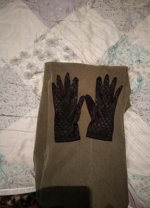 Перчатки тонкие