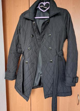 Плащ куртка пиджак черного цвета