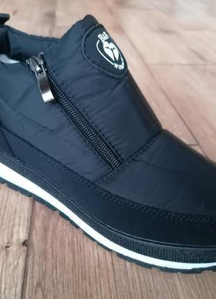 Термо ботинки. зима.