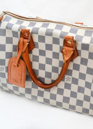 d60f22d5e0f6 Женская сумка louis vuitton speedy damier Louis Vuitton, цена - 850 ...