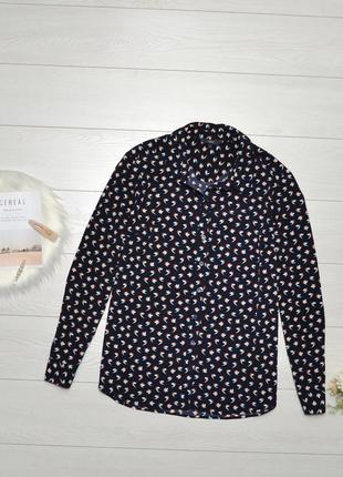 Красива блуза в пташки next.