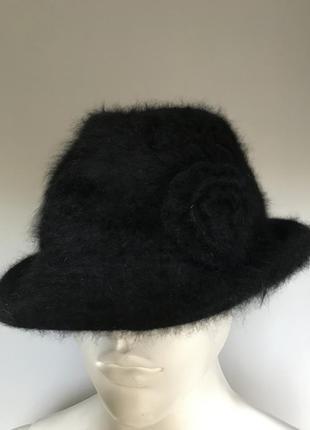 Шикарная ангоровая шляпа!