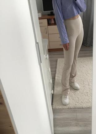 Легінси/ трикотажні штани кльош