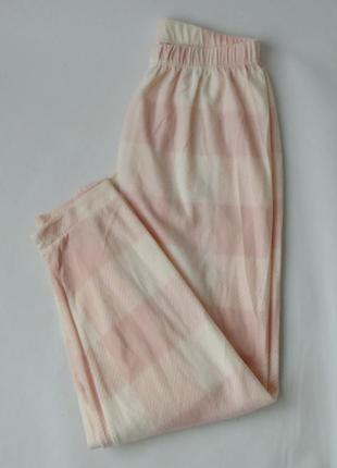 Пижамные штаны primark love to lounge м 12-14 флис