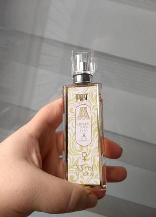 Crystal love тестер 33 мл крутая подарочная упаковка