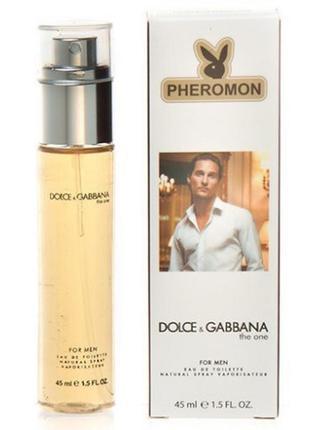 45 мл парфюм с феромонами the one for men dolce&gabbana