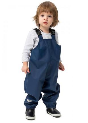 Непромокаемые штаны полукомбинезон детский грязи пруф