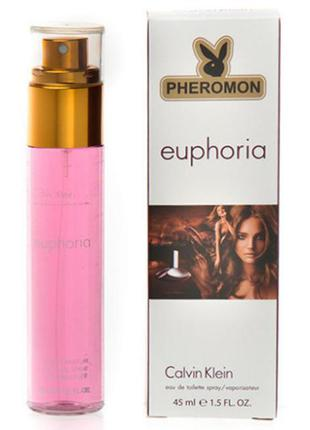 45 мл парфюм с феромонами euphoria calvin klein