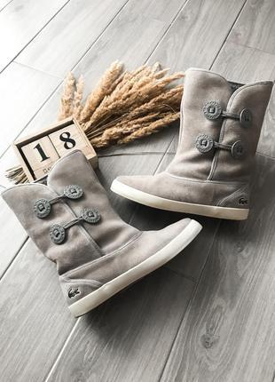 Крутезні замшеві черевички ботинки сапоги замша оригінал