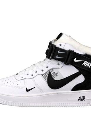 Зимние кроссовки nike air force
