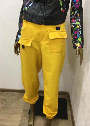 Брюки штаны джогеры в стиле off white