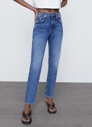 Zara джинсы в наличии 36 р