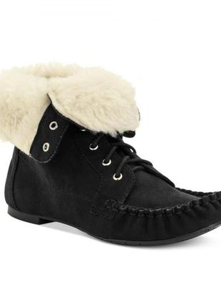 Элегантные ботинки женские, р. 6, стелька 23 см , american rag rubyy