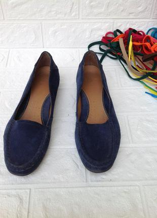 Мокасины туфли женские clarks р.39-40
