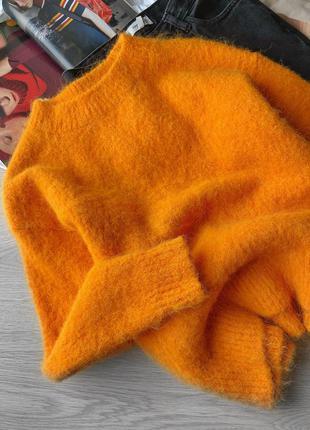 Стильный яркий свитер альпака h&m