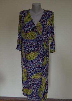 Очень шикарное брендовое практичное трикотажное новое платье joe browns