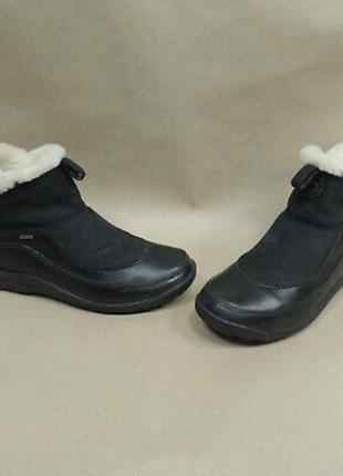 Кожаные очень удобные сапоги ботиночки merrell