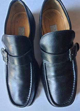 Италия ! лоферы премиум класса patrick cox   41,5 р мужские кожаные мокасины туфли
