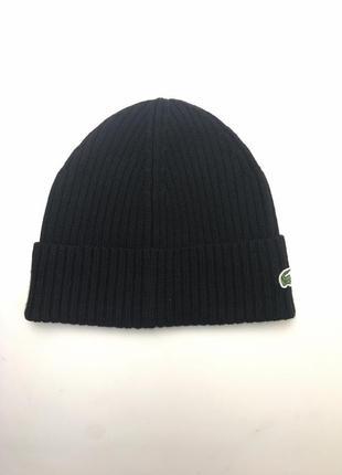 Шапка lacoste men's beanie hat