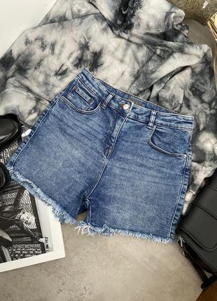 Шорты джинсовые стильные  трендовые papaya