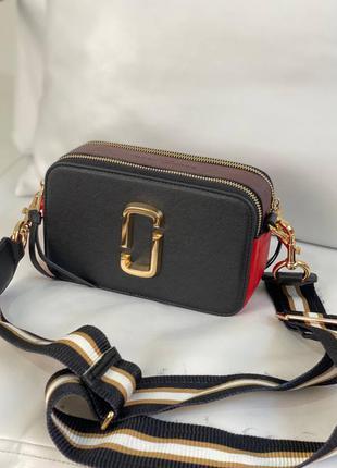 Женская кожаная сумочка marc jacobs эко кожа