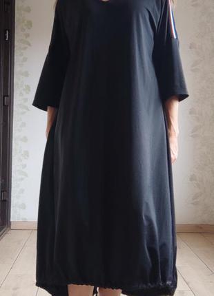 Платье свободного кроя / платье боллон / сукня вільного крою