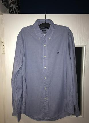Брендовая рубашка polo ralp lauren р 46-50
