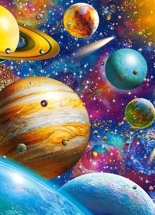 """Пазлы castorland 1000 элементов """"путешествие по солнечной системе"""" (c-104314/1100386)"""
