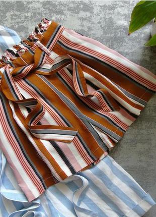 Пляжные шорты с высокой талией посадкой