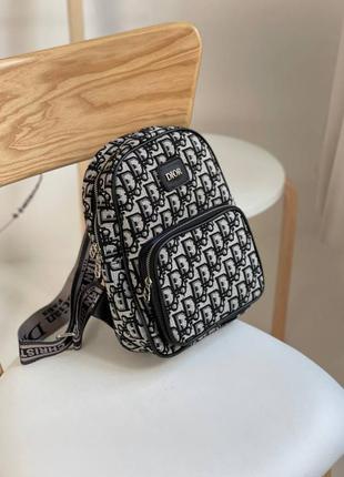 Женский рюкзак в стиле dior backpack