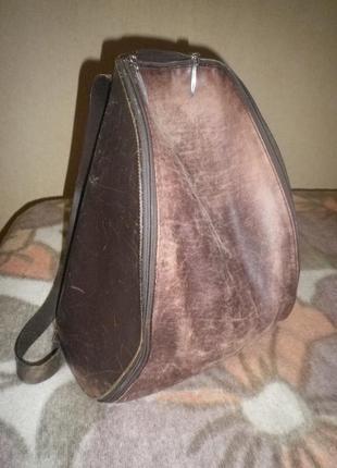 Кожаный рюкзак гранж оригинал