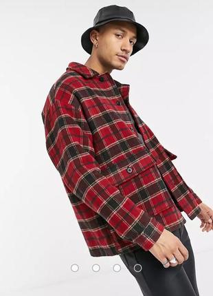 Куртка сорочка asos розмір m