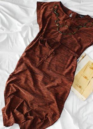 Платье миди с вырезами warehouse плаття сукня