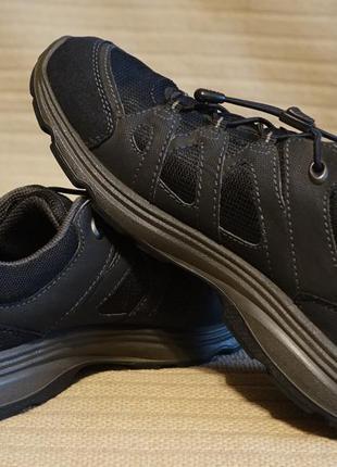 Фирменные комбинированные кроссовки ecco receptor technology gore-tex дания 37 р.