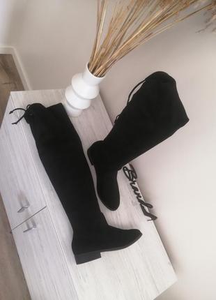 Шикарные ботфорды ботфорты ботинки сапоги деми