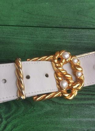 Роскошный кожаный ремень