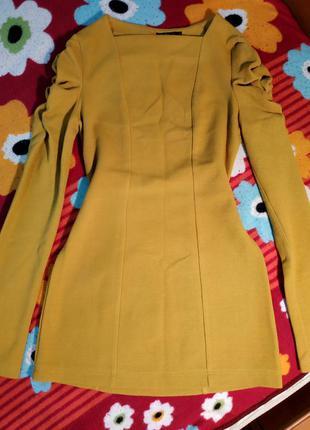 Тёплое платье свитер