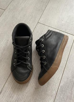 Кожаные деми ботинки демисезонные 32 размер в стиле некст