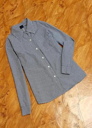Рубашка gap. фото на теле.