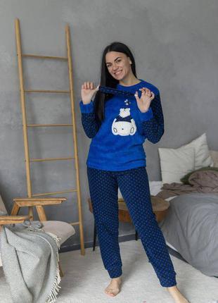 Якісна флісова піжама/тепла піжама/зимова піжама/ качественная флисовая теплая пижама