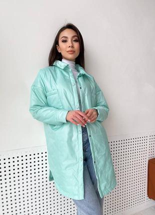 Куртка демисезонная курточка весна осень куртка рубашка