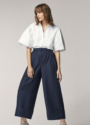 Шерстяные брюки massimo dutti, размер 40