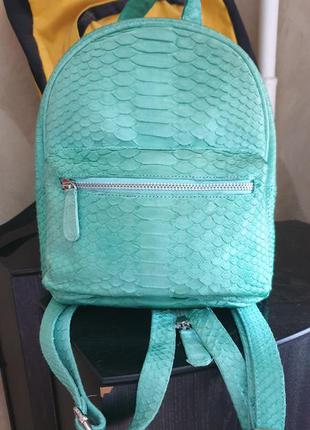 Рюкзак новый кожа кожаный питон змея рептилия под michael kors