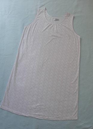 Ночная рубашка, большой размер, ночнушка с цветами, винтаж,нічна сорочка 2xl-3xl