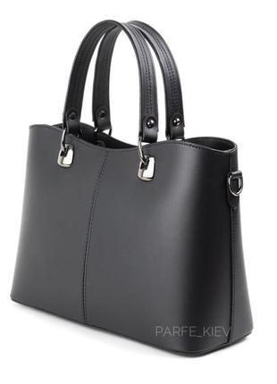 Кожаная женская сумка в офис, на работу и на каждый день под документы, ноутбук