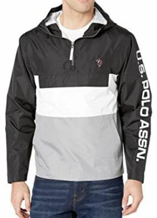 Классная мужская ветровка бренда u.s. polo assn. 💯 оригинал